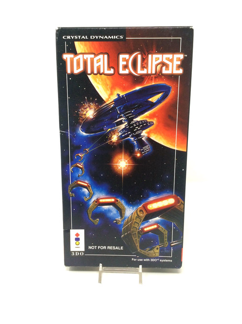 Total Eclipse  *RARE NOT FOR RESALE* -COMPLETE IN BOX- (3DO)