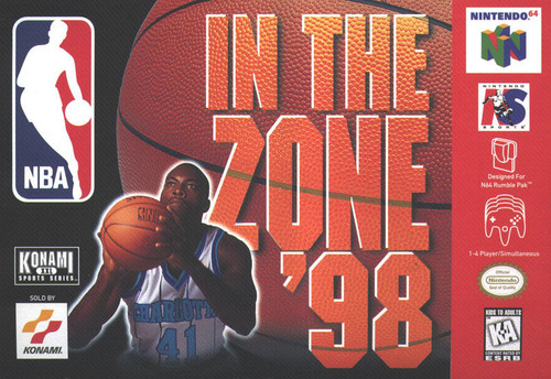 NBA In the Zone 98 (Nintendo 64)