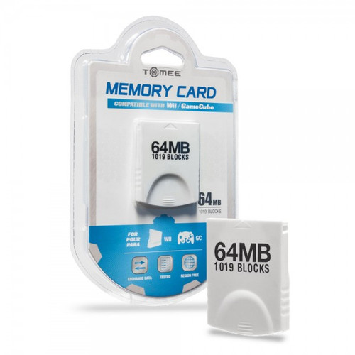 64MB Third-Party Memory Card (GameCube)