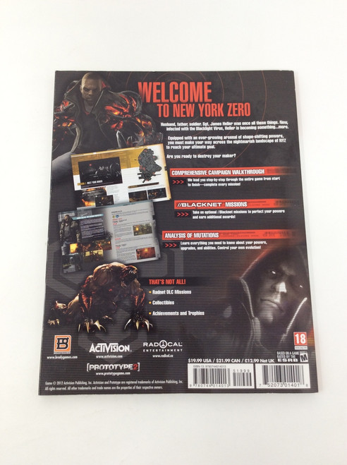Prototype 2 (Brady Games Official Strategy Guide)