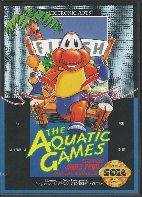 The Aquatic Games (Genesis)