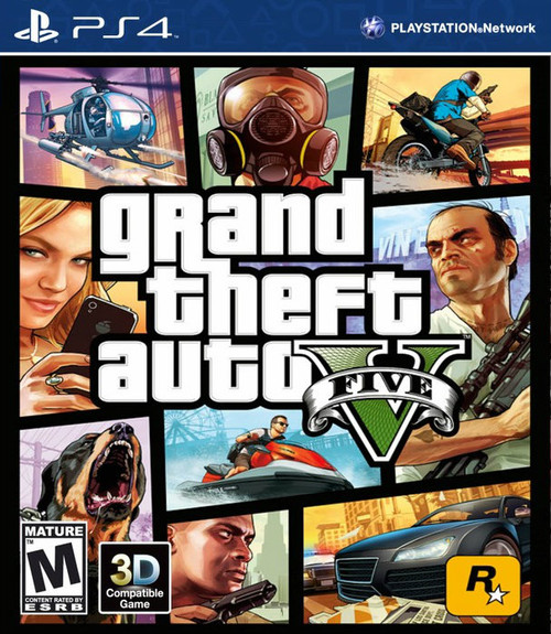 Grand Theft Auto V (PS4) (Pre-Owned)