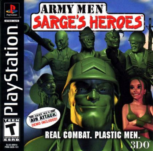 Army Men: Sarge's Heroes (PS1)