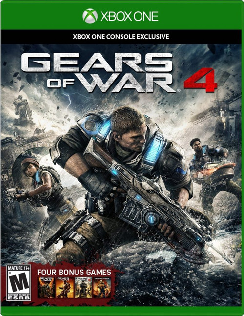 Gears of War 4 (Xbox One) (Pre-Owned)