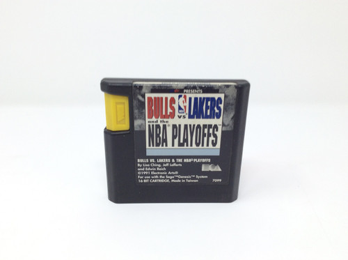 Bulls vs Lakers and the NBA Playoffs -In Box- (Genesis)
