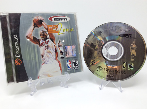ESPN NBA 2 Night -COMPLETE IN BOX- (Dreamcast)