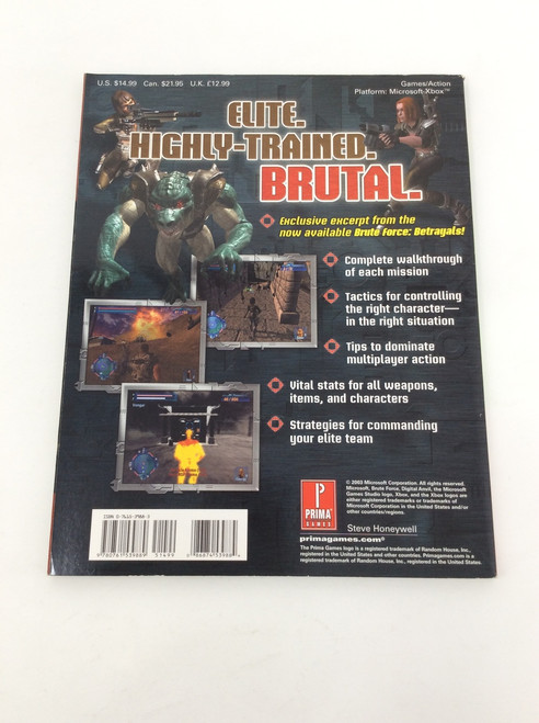 Brute Force (Prima's Official Strategy Guide)
