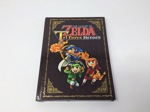 *BRAND NEW* The Legend of Zelda: Tri-Force Heroes Hardcover Guide