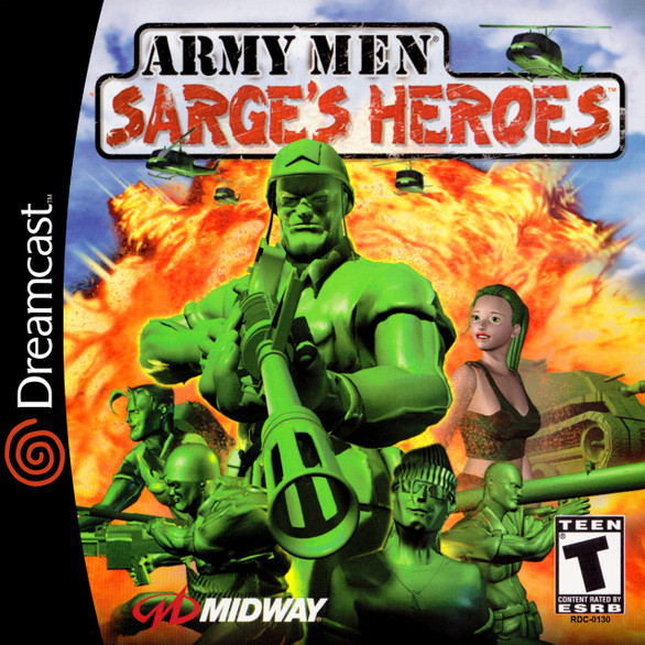 Army Men: Sarge's Heroes -GAME ONLY- (Dreamcast)