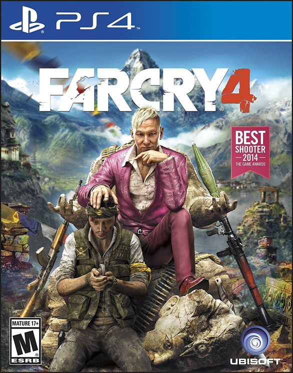 Far Cry 4 (PS4) (Pre-Owned)
