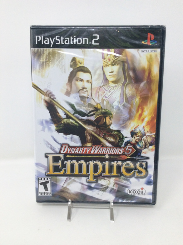 Dynasty Warriors 5: Empires *BRAND NEW* (PS2)