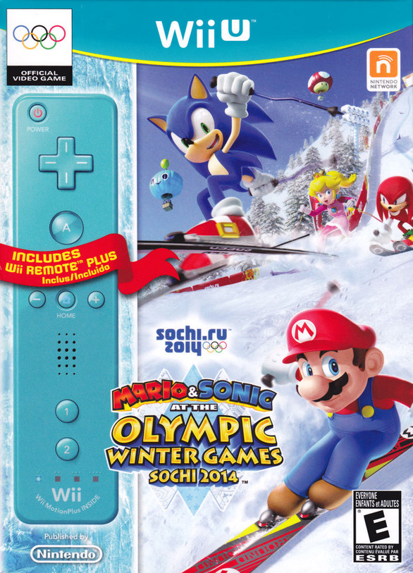 Mario & Sonic at the Olympic Winter Games Sochi 2014 (Wii U)