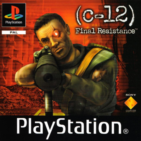 C-12: Final Resistance *BRAND NEW* (PS1)