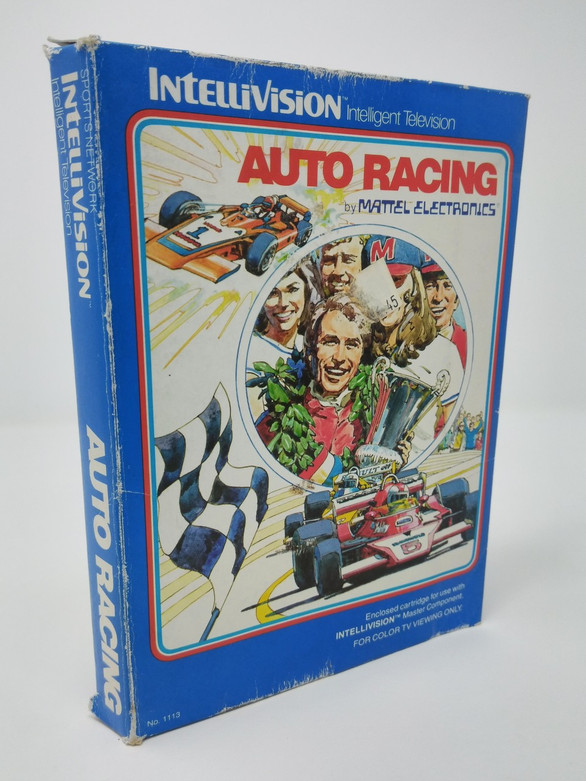 Auto Racing -IN BOX- (Intellivision)