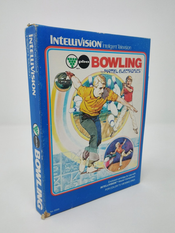 Bowling -IN BOX- (Intellivision)