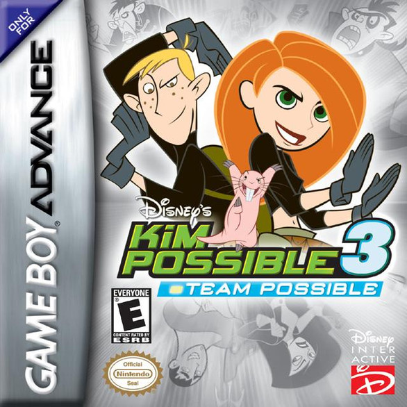 Disney's Kim Possible 3: Team Possible (Game Boy Advance)