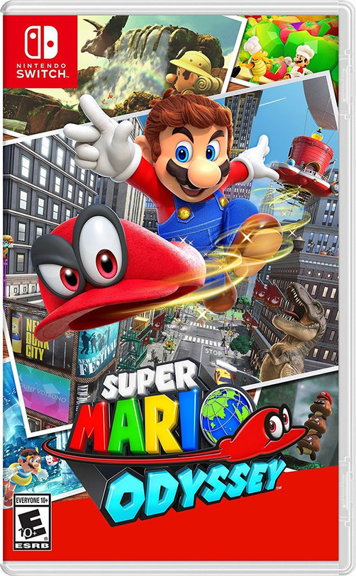 Super Mario Odyssey (Switch) (Pre-Owned)