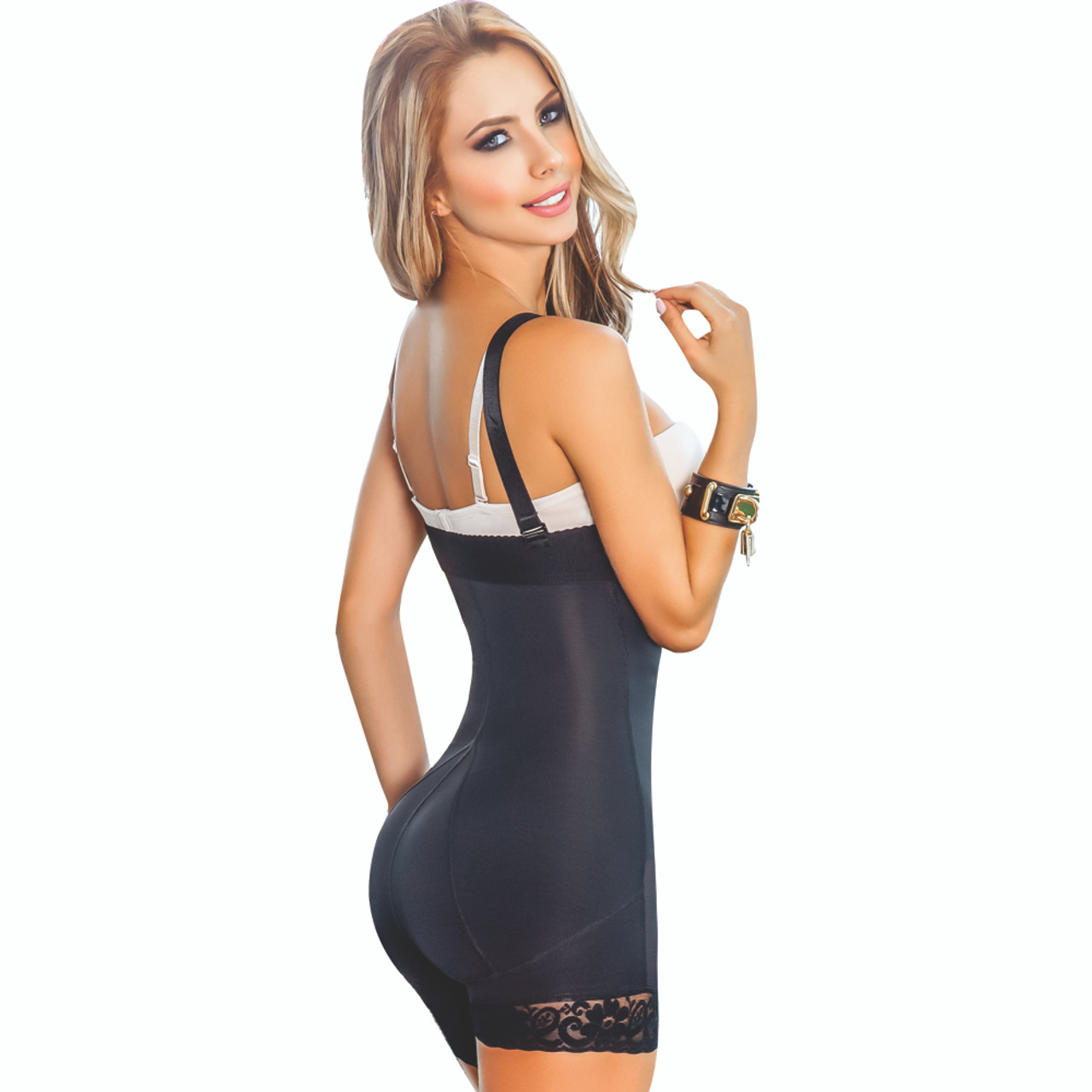 54d2eeffee ... Women s Post-Partum Strapless Butt Lifter Compression Girdle Body Shaper  ...