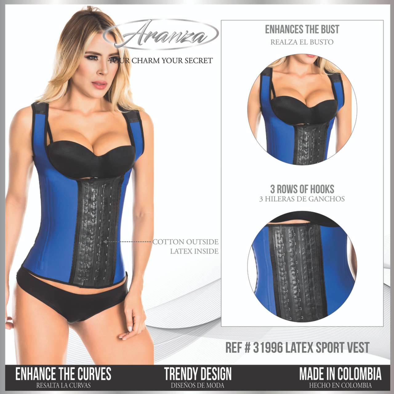 ee6c5486d4205 ... Best Latex Waist Cinchers you will ever find. Our women s shapewear  slim your waist