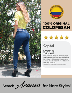 Butt Lifting Colombian Jean - Olivia