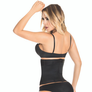 Latex Fat Burner Wrap With Back Support Slimming | Cinto Faja Colombiana