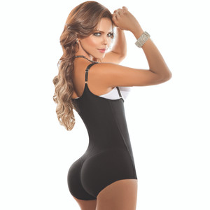 Colombian Bodysuit Tummy Control Butt Enhancer Push Up | Faja Colombiana