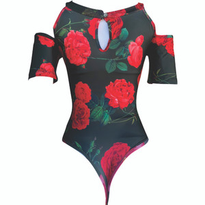 Bodysuit Body Shaper Blouse - Blusa Faja Colombiana Flores