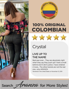 Butt Lifting Colombian Jean - Charlotte
