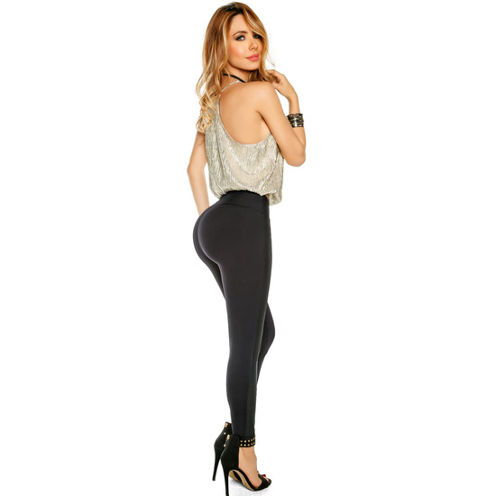 Women's Butt Lifting Leggings High Waisted with body shaper Inside Push UP Colombian Leggings – Pantalon Colombiano Levanta Cola Girona
