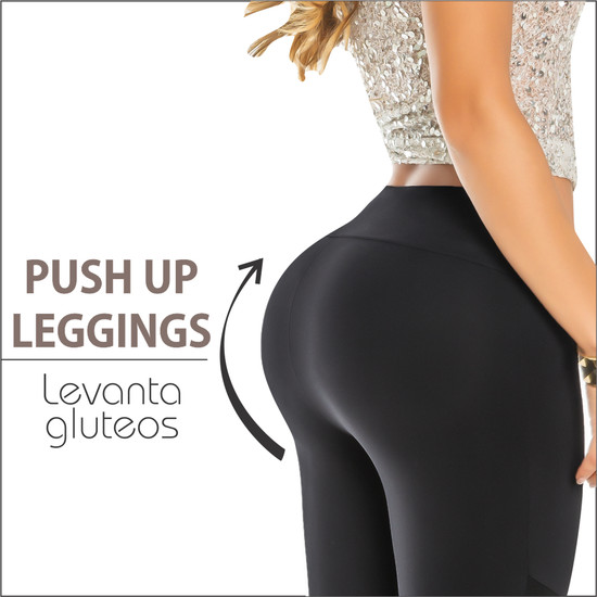 Womens Butt Lifting Leggings High Waisted with body shaper Inside  Push UP Colombian Leggings – Pantalon Colombiano Levanta Cola Recife