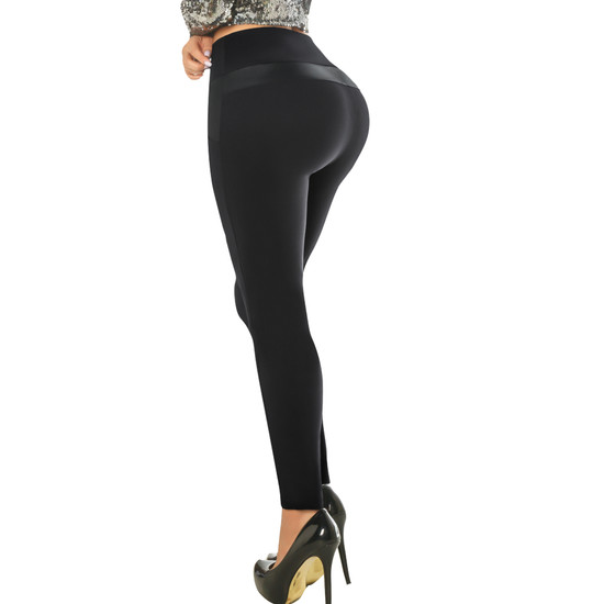Women's Butt Lifting Leggings High Waisted with body shaper Inside Push UP Colombian Leggings – Pantalon Colombiano Levanta Cola Yacarta