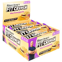 Fit Crunch Bar, Peanut Butter And Jelly, 12 (88g) Bars