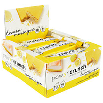 Power Crunch, Lemon Meringue, 12 (1.4 oz) Bars
