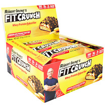 Fit Crunch Bar,  Chocolate Peanut Butter, 9 (14.60 oz.) Bars
