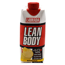 Lean Body Rtd, Banana, 12 - 17 fl oz Containers