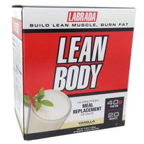 Lean Body, Soft Vanilla Ice Cream, 20/Pack