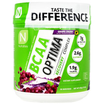 Bcaa Optima, Grape Crush, 30 Servings (15.5 oz)