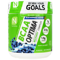 Bcaa Optima, Blue Raspberry Thunder, 30 Servings (15.5 oz)