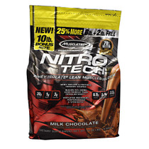 Nitro-tech, Milk Chocolate, 10 lbs (4.54 kg)