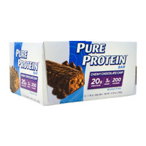 Pure Protein Bar, Chewy Chocolate Chip, 6 (50 g) Bars