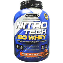 Nitro-tech 100% Iso Whey, Milk Chocolate, 77 servings