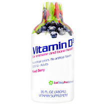 Vitamin D3, Mixed Berry, 16 FL OZ (480 ml)
