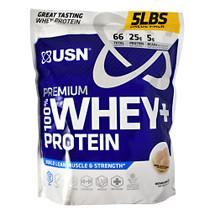 100% Whey + Protein, Vanilla Ice Cream, 5 LB. (2.27kg)