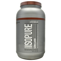 Low Carb Isopure, Dutch Chocolate, 3 lb (1361 g)