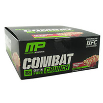 Combat Crunch, White Chocolate Raspberry, 12 Bars