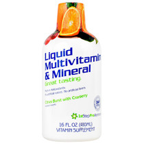 Liquid Multi-vitamin & Mineral, Citrus Burst With Cranberry, 16 FL OZ (480 ml)