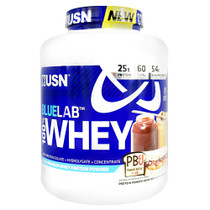 Blue Lab 100% Whey, Peanut Butter And Jelly, 4.5 LBS