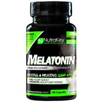 Melatonin, 100 Capsules, 100 Capsules