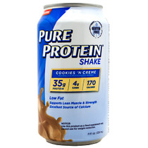 Pure Protein Shake, Cookies 'n Creme, 12 (11 fl. oz.) Cans
