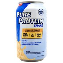 Pure Protein Shake, Vanilla Cream, 12 (11 fl. oz.) Cans